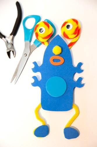 Fonkelnieuw Foam monsters knutselpakket | Style my party YB-54