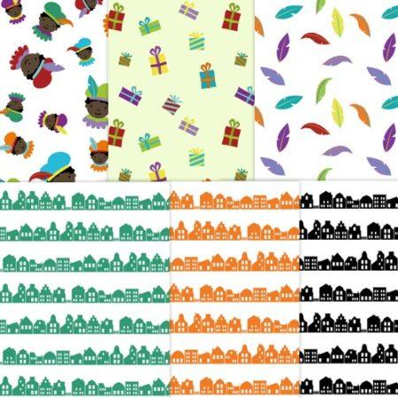 sinterklaas-patroonpapier