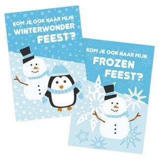 Ongekend Uitnodiging Winterwonderland | Style my party HU-85