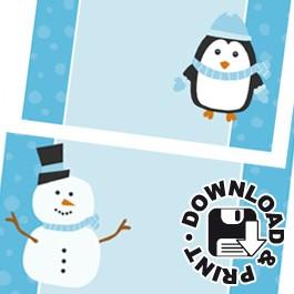 winterwonderland-naamkaartje