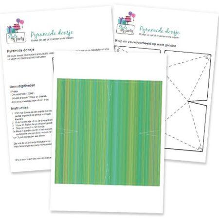 pyramide-doosje-green