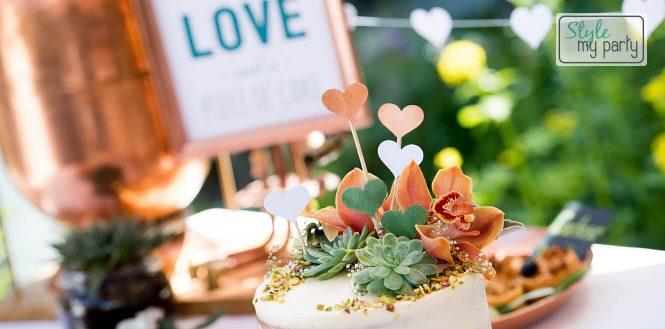 Onze bruiloft: De sweettable