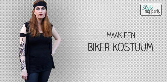 Maak een Biker kostuum